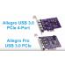 Allegro USB 3.0 PCIe Card (4 charging ports) [Thunderbolt compatible] model no USB3-4PM-E